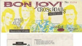 Sejarah Hari Ini (6 Mei 1995) - Bon Jovi Gelar Konser di Indonesia