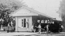 Sejarah Hari Ini (21 Mei 1896) - Pasuruan-Warungdowo, Jalur Pertama Trem Pasuruan