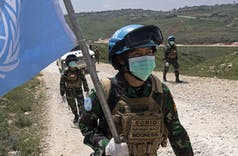 Kontingen Garuda UNIFIL Bantu Korban Ledakan Beirut, Lebanon