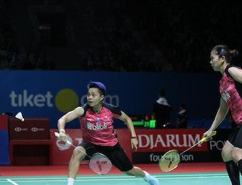 Profil Indonesia Open 2019: Greysia/Apriyani, Duet Beda Generasi Bersemangat Tinggi
