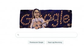 Melalui Doodle, Google Peringati Ulang Tahun Chrisye ke-70