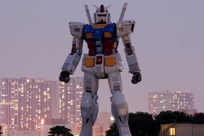 Ada Profesor Indonesia di Proyek Gundam Raksasa