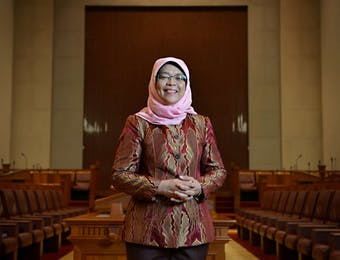 Siapa Sangka kalau Penjual Nasi Padang itu Kini Menjadi Presiden Singapore