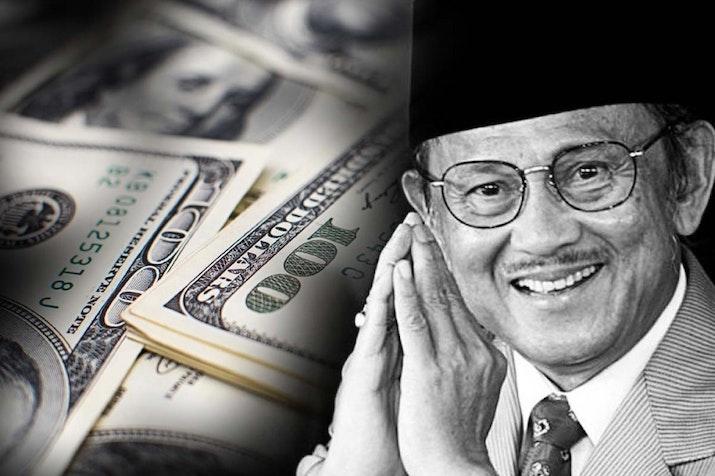 Habibie, Sang Penakluk Dollar yang Tak Pernah Mau Jadi Presiden