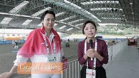 Larasati Gading, Mantan Model yang Kini Jadi Atlet Berkuda Kebanggaan Indonesia