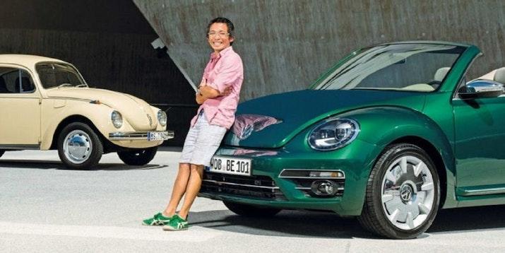 Inspiratif! Berawal dari Magang, Chris Lesmana Kini Jadi Desainer Mobil VW di Jerman