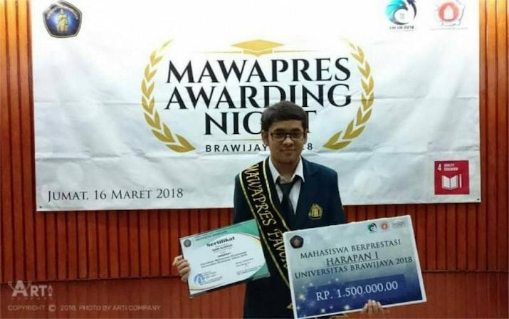 Mengenal Fahmi Alfareza, Mawapres Favorit UB yang tidak bosan keliling Asean