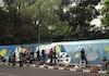 Kolaborasi Kreatif Menghias Mural di Kota Bandung