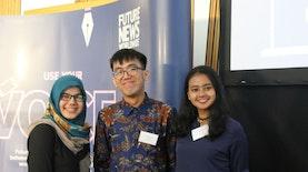 Tiga Jurnalis Muda Indonesia di Konferensi Jurnalistik Terbesar Dunia