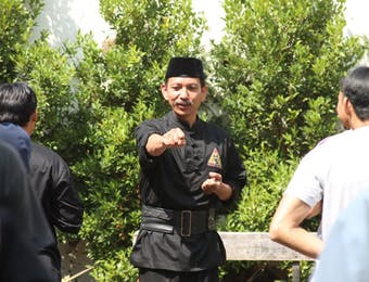 Tokoh Silat Jawa Barat Bawa Silat Tradisional Banten Ke Benua Eropa