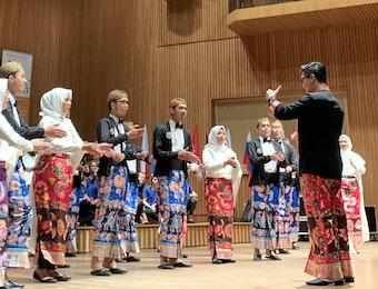 D'Voice IPB Harumkan Indonesia di Polandia