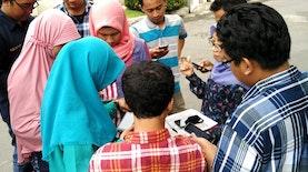 Tim Humanitarian OpenStreetMap Memetakan Data Infrastruktur untuk Penanggulangan Bencana di Surabaya