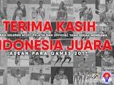 Gambar sampul Selamat, Indonesia Raih Juara Umum Dalam ASEAN Para Games 2017!