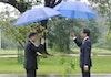 Berbahasa Indonesia, Begini Presiden Korea Selatan Menyapa Presiden Indonesia