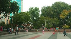 Taman Bungkul Surabaya Masih Menjadi Favorit