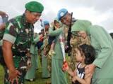 Gambar sampul Sukses Kawal Misi Perdamaian di Lebanon, Anggota Yonif 742/SWY Disambut Penuh Apresiasi