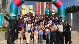 A journey being Volunteer in Test Event Asian Games 2018