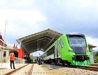 Resmi! Kereta Api Bandara Minangkabau Siap Beroperasi