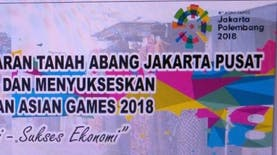 Penuansaan Asian Games 2018 Khas Rakyat