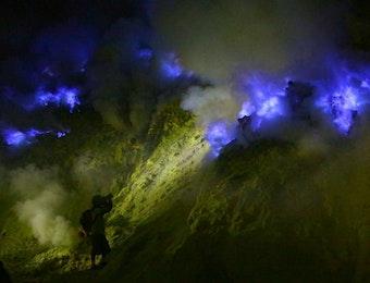 Obor Asian Games Akan Dibawa ke Kawah Api Biru