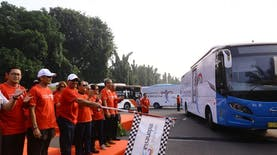 100 Bus Wonderful Indonesia Akan Ramaikan Jalanan Saat Asian Games 2018