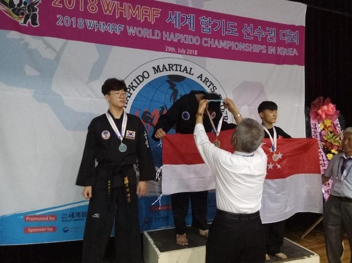 Anak Bangsa Asal Aceh Juarai Kompetisi Hapkido Internasional di Korea