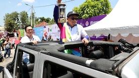Di Kota Sejarah Atlet Disabilitas Indonesia Kirab Obor APG Dimulai