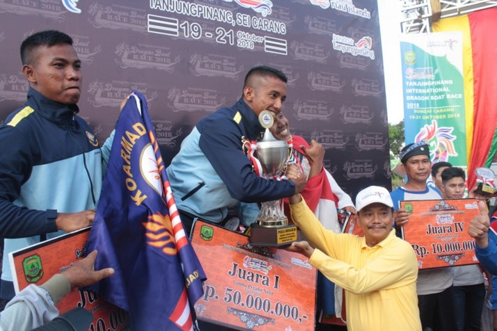 Juara Bertahan, Indonesia Pertahankan Gelarnya di International Dragon Boat Race 2018