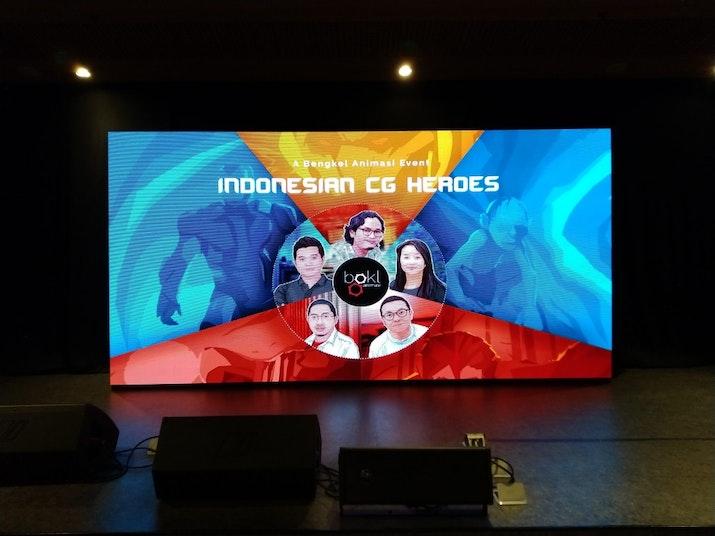 Indonesia CG Heroes, Berkumpulnya Animator Indonesia Kelas Dunia