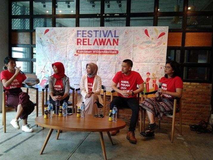 Menapaki Jalan Menuju Festival Relawan