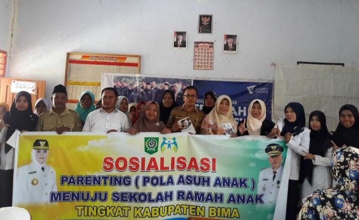 Sinergi Kawan SLI Dompet Dhuafa dengan DP3AKB Kabupaten Bima