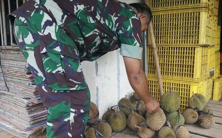 Kenikmatan Durian di Desa Blimbing