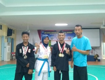 Atlet SMKN 3 Bathin Solapan Juara Umum O2SN Bengkalis