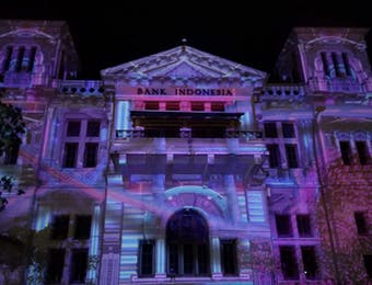 SUMONAR, Festival Video Mapping Pertama di Indonesia
