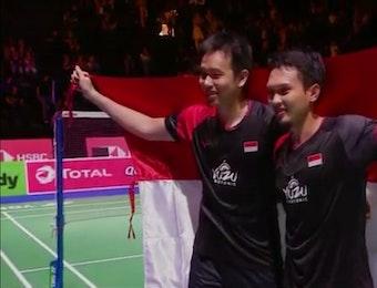 Kalahkan Jepang, Indonesia Menang di Kejuaraan Dunia Bulutangkis 2019