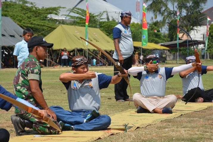 Lestarikan Budaya Jemparingan Lewat Piala Dandrem