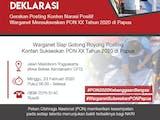 Gambar sampul Warganet Dukung PON 2020 Sebagai Momentum Pembangunan Papua Menuju Indonesia Maju