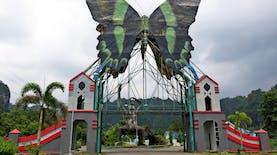 Cantiknya Kupu-kupu dari Kawasan Karst Maros Pada Prangko Indonesia