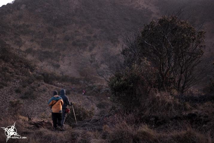 Mapala UMN Terapkan Konsep Less Waste di Pendakian Perdana