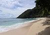 Panorama Pantai Base-G di Kota Jayapura, Papua