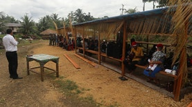 Merayakan Natal di Kampung Hlongching, Perbatasan Indonesia-Papua Nugini