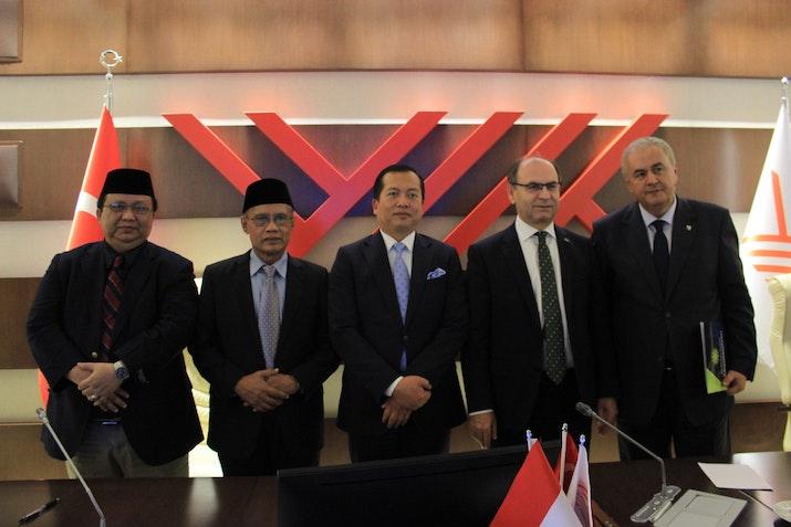 Organisasi Berbasis Islam Indonesia Jalin Umbrella Agreement di Turki