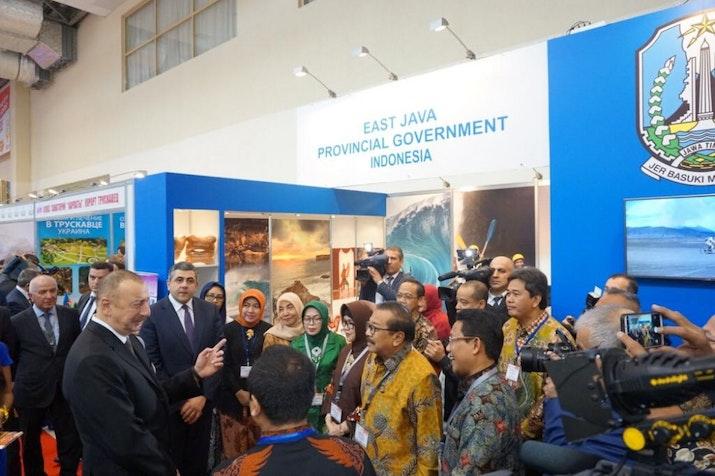 Provinsi Jawa Timur Berpartisipasi dalam Pameran Pariwisata Terbesar di Azerbaijan
