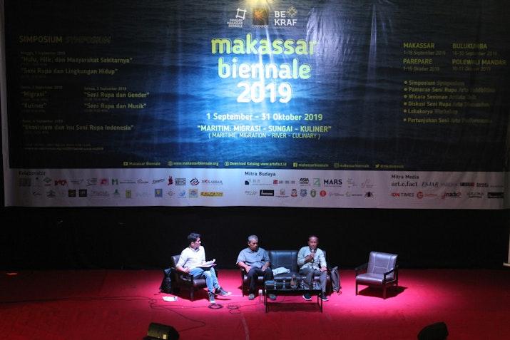 Akhirnya! Setelah 2 Tahun Ditunggu, Makassar Biennale Resmi Dibuka