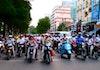 FOTO: Go-jek yang Mengaspal di Jalanan Vietnam