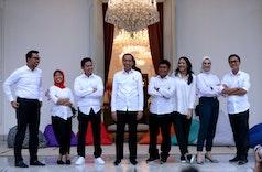 Profil Singkat Staff Khusus Presiden dari Kalangan Millenial