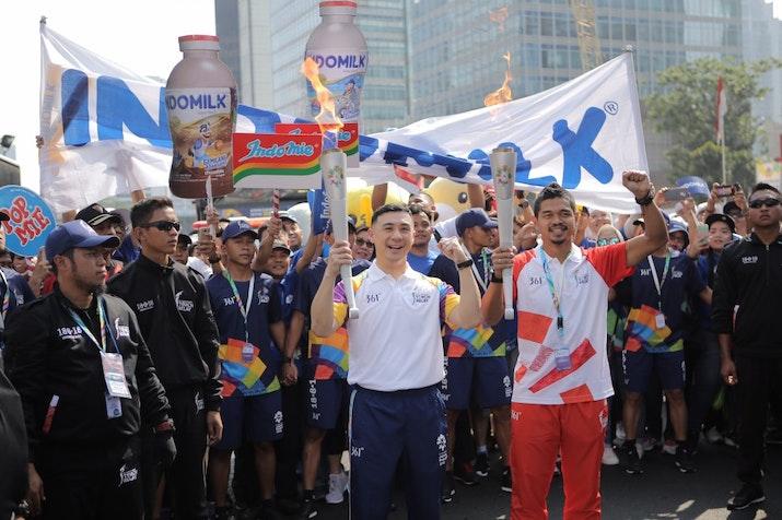 Kirab Obor Asian Games 2018 Satukan Semangat Seluruh Masyarakat Asia