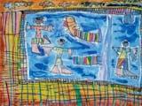 Gambar sampul Indonesia juara di International Childrens and Young Peoples Art Competition, Polandia