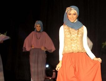 Indonesia Mulai Menjadi Pusat Mode Islam Dunia