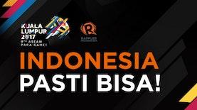 Indonesia Puncaki Daftar Perolehan Medali ASEAN Para Games 2017. Selamat!